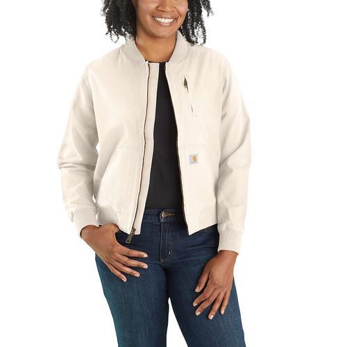 Carhartt Women's Rugged Flex Relaxed Fit Canvas Jacket