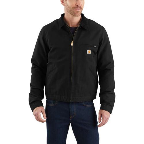 Carhartt Men's Big and Tall Duck Detroit Jacket