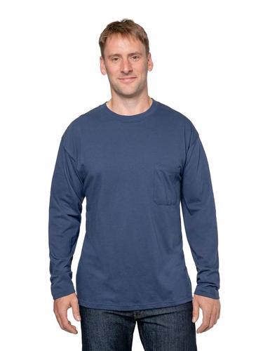 Insect Shield Men's UPF Dri-Balance Long Sleeve Pocket Tee Extended Sizes