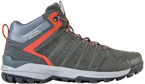 Oboz Men's Sypes Mid Leather Waterproof Hiking Boot