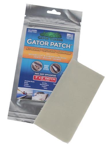 Gator Patch Marine Emergency Repair 3x6-inch Fiberglass Polyester Patch