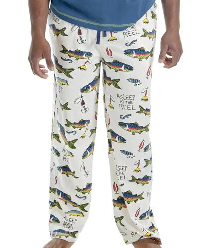 Lazy One Men's Asleep at the Reel Pajama Pants