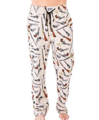 Lazy One Men's Old West Guns Pajama Bottoms