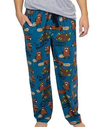 Lazy One Men's Sleeping Dammit Pajama Pants