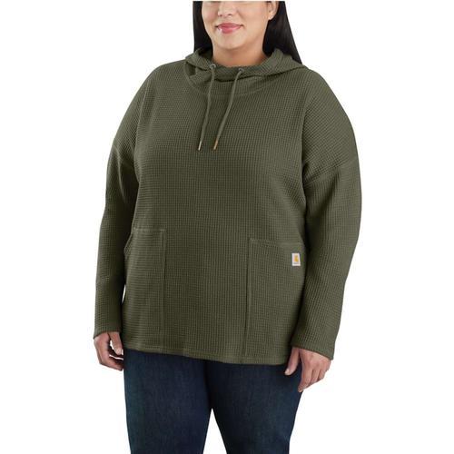 Carhartt Women's Heavyweight Hooded Thermal Long Sleeve Shirt
