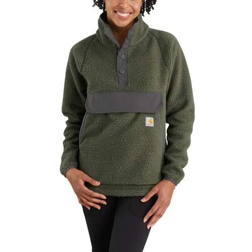 Carhartt Women's Quarter Snap Fleece Jacket