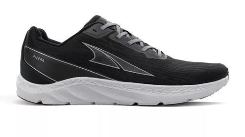 Altra Men's Rivera Running Shoe Black and Grey