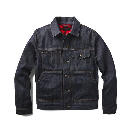 Filson Men's Lined Denim Short Cruiser Jacket
