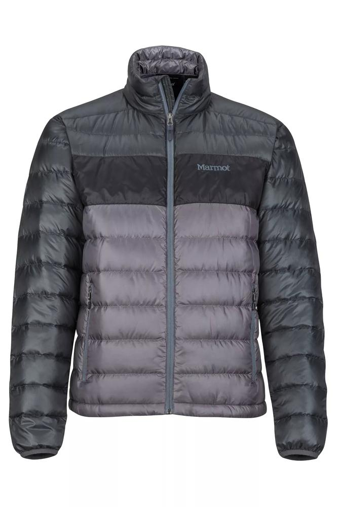 Marmot Men's Ares Jacket STEEL_ONYX/BLACK