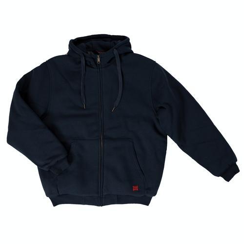 Tough Duck Men's Insulated Full Zip Hooded Sweatshirt