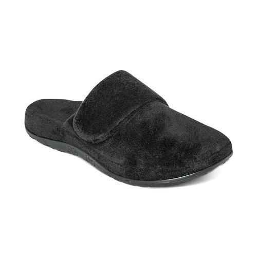 Aetrex Women's Mandy Closed Toe Slipper in Black