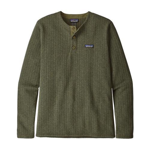Patagonia Men's Better Sweater Fleece Ribbed Henley