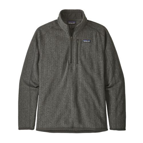 Patagonia Men's Better Sweater Ribbed Fleece Quarter Zip