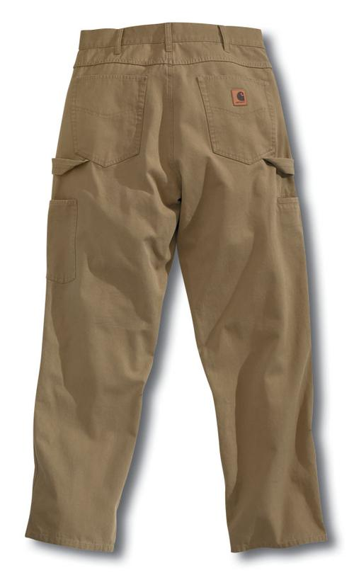 CARHARTT LOOSE FIT CANVAS CARPENTER PANT