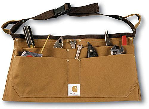 CARHARTT BROWN DUCK NAIL APRON