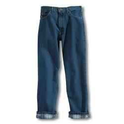 Carhartt Men's Relaxed Fit Jean - Flannel Lined