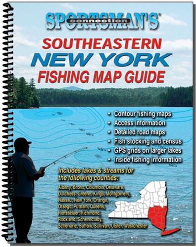 S.E. NY Fishing Map Guide