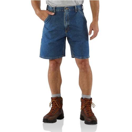 Carhartt Men's Denim Work Short 8.5in Inseam