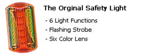 Clip-On Flashing Safety Light