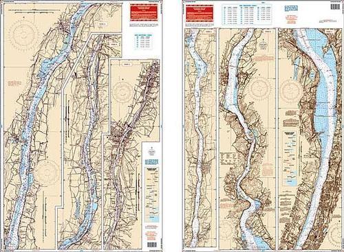 Hudson River Waterproof Chart